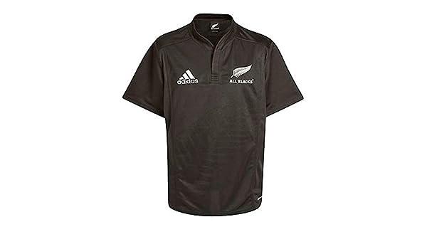 ADIDAS All Blacks Rugby camiseta de manga corta en casa Negro ...