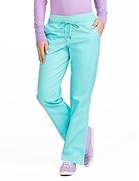 Med Couture Signature - Pantalón de Yoga para Mujer, púrpura, Azul, (Blue Crush w/Purple Haze), XXXL