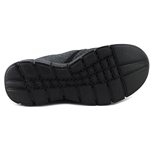 Skechers De Mershon Chaussure Synthétique Marauder Hommes Black Marche ‑ pSrvfqp