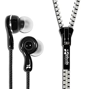 Zipbuds JUICED 2.0 Never Tangle Earbuds Featuring ComfortFit2 Technology, Glow in the Dark
