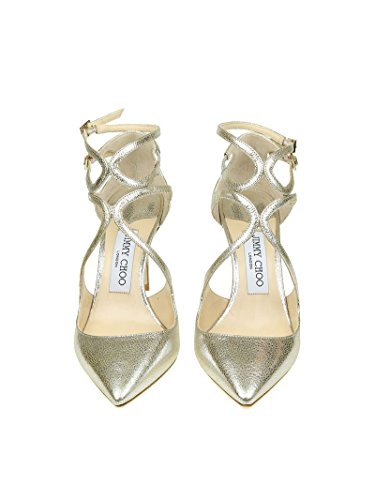 Women's Silver Sandals Leather Choo Jimmy LANCER85GLE 0wq8n7