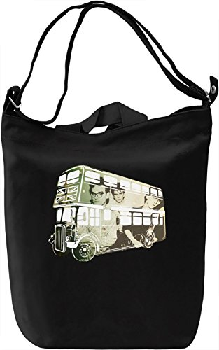 The Smiths Borsa Giornaliera Canvas Canvas Day Bag| 100% Premium Cotton Canvas| DTG Printing|
