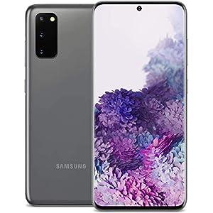 Samsung Galaxy S20 5G, 128GB, Cosmic Gray – Fully Unlocked (Renewed)