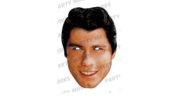 Générique ma1263 - Máscara John Travolta - cartón - Talla única: Amazon.es: Juguetes y juegos
