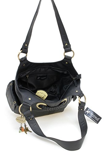 Shoulder Collection Leather Bag Catwalk Catwalk Collection Black Marianne twxPIqn6E