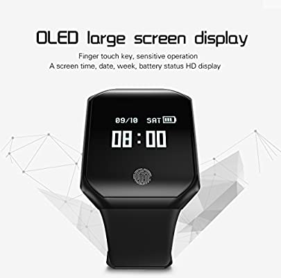 Ching Fitness Tracker Smart Watch Ritmo Cardíaco Pulsera Reloj ...