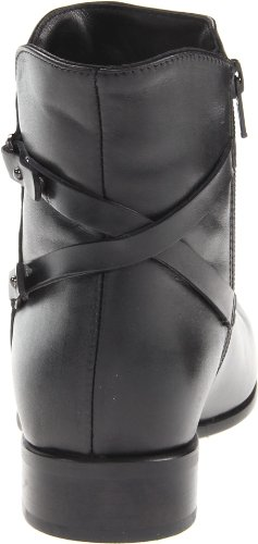 Leather Sharon Canadienne Bootie Black Women's La Sq1B6n