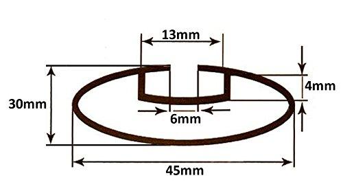 Barres De VDP Rio en aluminium 135/Citro/ën C-Crosser EP /à partir de 07/90/kg verrouilable