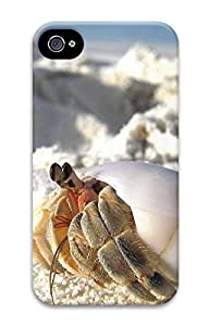 iPhone 4 4S Case Crabs On The Beach 3D Custom iPhone 4 4S Case Cover