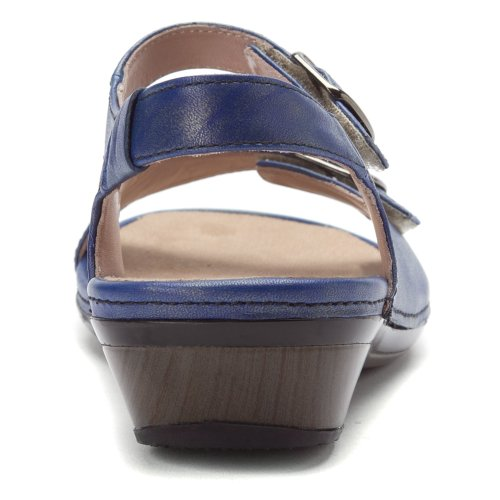 Trok Schoen Dames Daphne Blauw Metallic