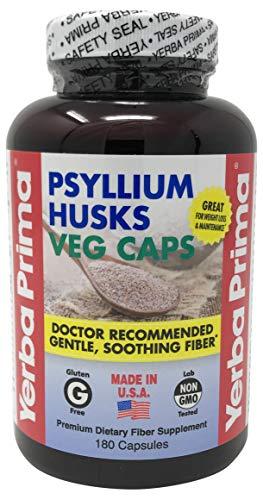 Yerba Prima Psyllium Husks, 180  Veg ()