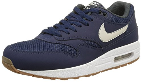 sports shoes e3c4a a8bbb Nike Air Max 1 Essential Men s Running Shoes 537383-401 Midnight ...