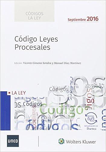 Ebooks Códigos La Ley: Código De Leyes Procesales 2016 Descargar Epub