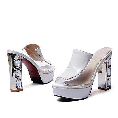 LvYuan Mujer-Tacón Robusto-Confort Innovador Gladiador Zapatos del club-Sandalias-Boda Exterior Oficina y Trabajo Vestido Informal Deporte Red