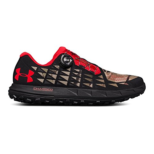Under Armour Men's Fat Tire 3 Running Shoe, Ridge Reaper Camo Ba (900)/Black, 10
