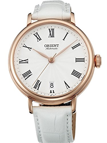 orient white dial watch - 3