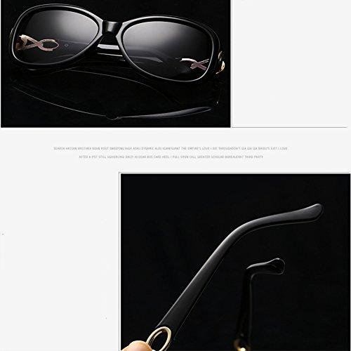 CJ Gafas con sol polarizadas de 01 Gafas Gafas mujer conducción para de 02 de estilo sol nuevas rv7nrqBw