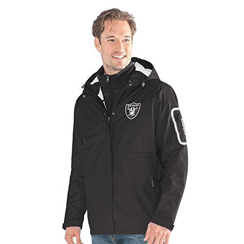 G-III Sports NFL Oakland Raiders Acclimation 3-in-1 Systems Jacket, X-Large, ()
