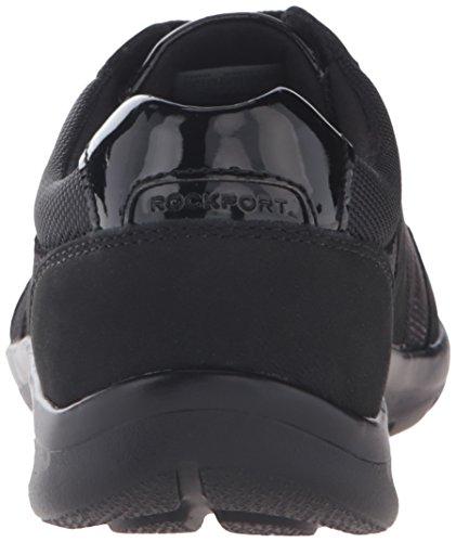 Rockport Truwalk Zero Moreza T-toe Chaussure De Marche Noir Nubuck