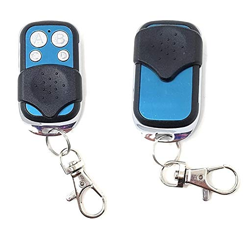 ValmoniSport Mando a Distancia Apertura Puerta de Garaje Sincronizaci/ón F/ácil C/ódigo Control Remoto Frecuencia Ajustable Compatible Garage Azul Metalizado