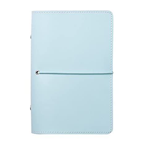 Labons 6 Round Ring Binder Hardcover Refills Planner for Monthly Weekly Daily Schedule / 2018 2019 2020 Calendar/Telephone & Address/Personal Memo ...