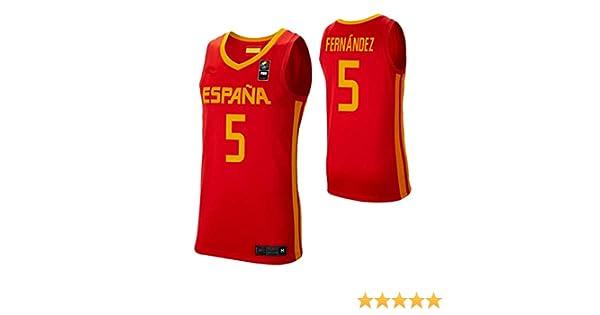 K&Q Camiseta Rudy Fernández Selección Española de Baloncesto Rojo 2019 Hombre (Rojo, XXL): Amazon.es: Deportes y aire libre