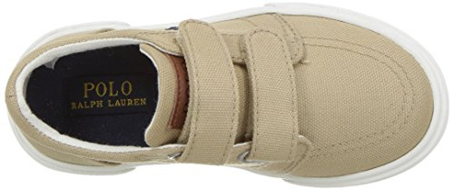 Polo Ralph Lauren Kids Boys' Faxon II Sneaker, Khaki Cotton, 10 M US Toddler by Polo Ralph Lauren (Image #8)