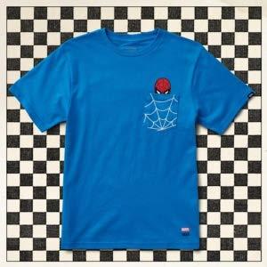 VANS X MARVEL Spiderman Pocket Boys Blue (M) -