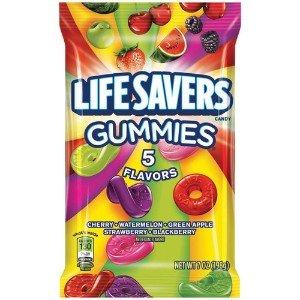 Life Savers Gummies 174 5 Flavors 198 Grams Bag Amazon Co Uk
