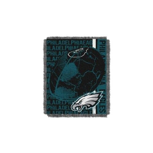 The Northwest Company NFL Philadelphia Eagles Double Play Jacquard Throw, 48