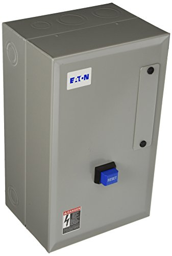 Eaton ECN0501CAA-R63/B Freedom Full Voltage Starter, NEMA Size 0, 1 NEMA Rating, 1A Min Overload, 5A Max Overload, 3HP Rating at 230V, 5HP Rating at 460V, 480V Coil Voltage