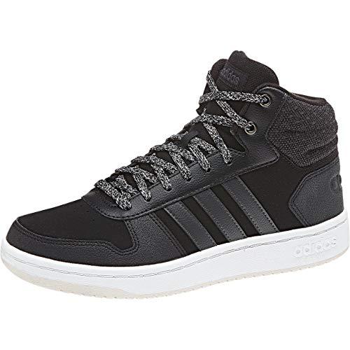 Noir S18 Black Pour Blanc Hoops Adidas core Baskets 0 Carbon 2 Hommes Mid TTPw0qC