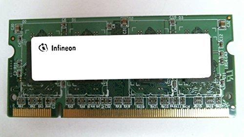 INFINEON HYS64D32020GDL-7-B 256MB NOTEBOOK SODIMM DDR PC2100(266) UNBUF 2.5v 2RX16 200P 32MX64 ()
