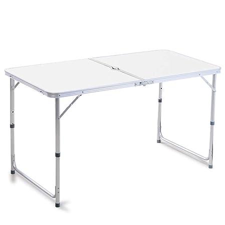 HBING Mesa y sillas Plegables al Aire Libre Mesa de Comedor ...