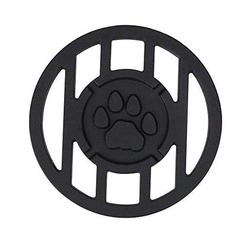 University Branding Iron - Northlight Seasonal 9500301 Pawprint Sports Mascot Inspired Round Branding Grill Iron Accessory