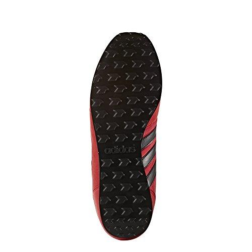 adidas Neo City Racer - Chaussures de Tennis Homme - Rouge (Escarl/Negbas/Ftwbla) - 46 EU
