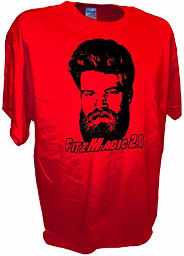 MENS Fitzmagic 2.0 Ryan Fitzpatrick NY Jets Football QB 14 Funny Tee By Achtung T Shirt LLC