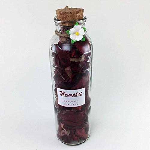 모나팟 로즈 향수 포푸리  PR-0411로 장식한 아름다운 유리 병 디자인 장식
