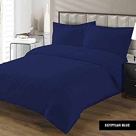 Luxurious 100 Egyptian Cotton 600 Thread Count 5Pc Bedding Set 1 Flat Sheet 1 Fitted Sheet 2 Pillowcases And 1 400 GSM Comforter Solid By Kotton Culture 30 Deep Pocket Full