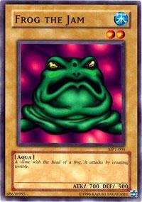 Yu-Gi-Oh! - Frog the Jam (MP1-004) - McDonalds Promo Cards - Promo Edition - Common