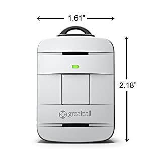 Lively Alert One-Touch Waterproof Device (Silver) by GreatCall -DISCONTINUED by GreatCall
