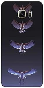 Snoogg Águilas Protectora Caso De La Contraportada Del Diseñador Para Samsung...