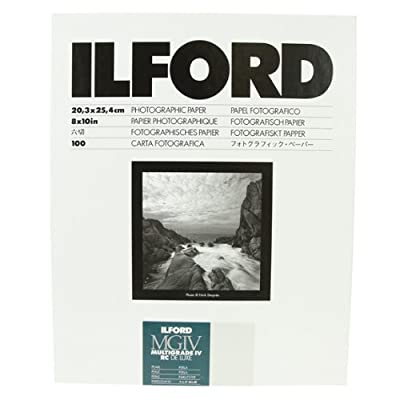 Ilford B&W Paper 8X10 Multigrade IV 100 Pack (Pearl) from Ilford