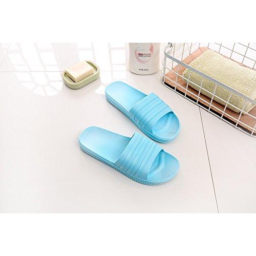 Bleu bain Sole douche Sandales Chaussures de douche de 38 Foams piscine Soft de antidérapantes salle Pantoufles de de Chaussures Mule d'eau bain 39 Maison Mule Chaussures Ciel Chaussures de PBw445
