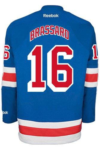 Derick Brassard New York Rangers NHL Home Reebok Premier Hockey Jersey