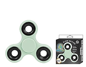 Spinners Glow In The Dark Finger Toy Light Green