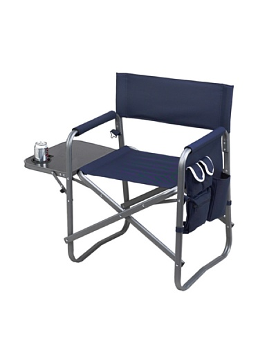 Folding-Directors-Chair-With-Table-Organizer