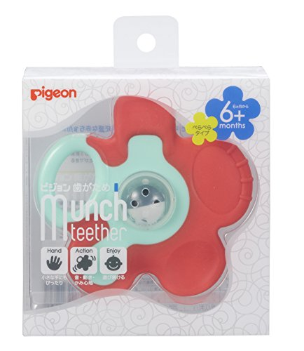 Pigeon Munch Teether Carrot Flower 6months product image