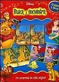 Disney Busca y Encuentra / Disney seeks and See: La Sirenita, Rey Leon Y Pooh / Little Mermaid, Lion King and Pooh