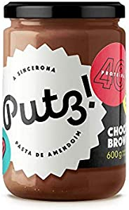 Pasta de Amendoim PUTZ (600g) - Sabor Chocolate Brownie, Putz